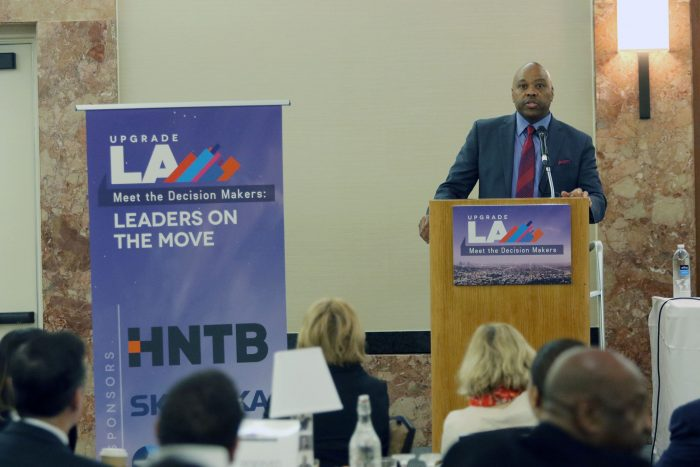 Metro CEO Phil Washington discussed the implementation of Measure M and business opportunities available to small and diverse business owners within the first 12 months of the Measure M rollout. (courtesy photo)