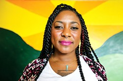 Alicia Garza (courtesy of San Francisco Weekly/Mike Koozmin)