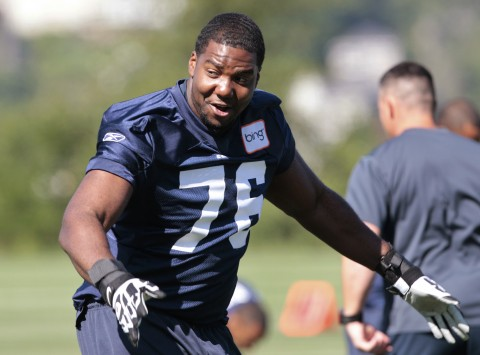 Offensive tackle Russell Okung. (AP file photo)
