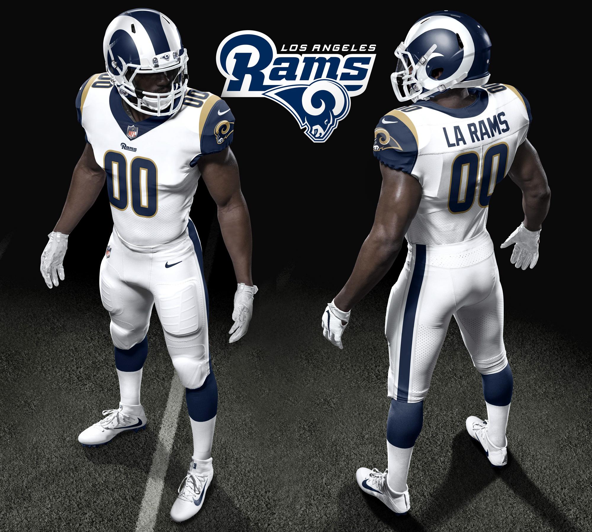more photos 18109 f3e86 Los Angeles Rams Unveil Uniforms For 2017 Season - Los ...