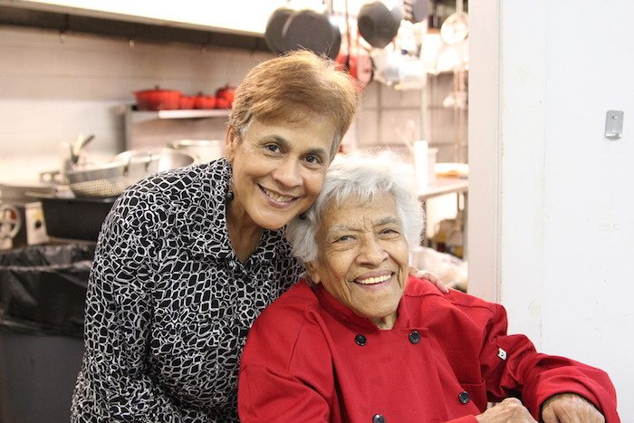 Stella Reese & Leah Chase (Photo by Zon D'Amour)