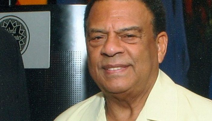 Former United Nations Ambassador Andrew Young said that he works to see a just and  prosperous  global  society  made  whole  through  humanitarian  service,  civic participation, philanthropy and good works.  (Wikimedia Commons)