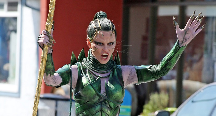 Elizabeth Banks as Rita Repulsa in Lionsgate's Power Rangers Photo Courtesy of Lionsgate