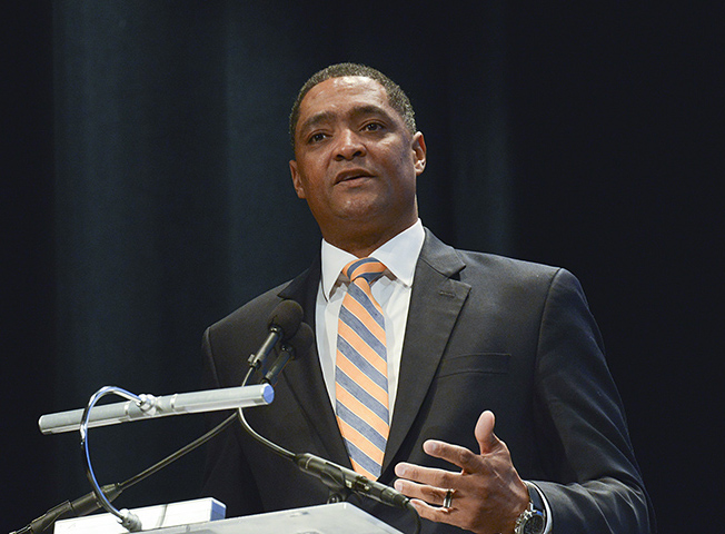 Congressional Black Caucus Chairman Cedric Richmond (D-La.) said that the non-partisan CBO confirmed that the Republican healthcare bill would be a disaster for the American people. (Freddie Allen/AMG/NNPA)