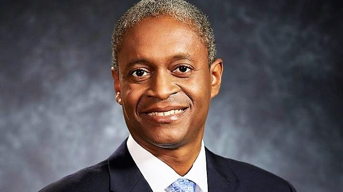 Raphael Bostic was named Monday as president of the Federal Reserve Bank of Atlanta. (Federal Reserve Bank of Atlanta)