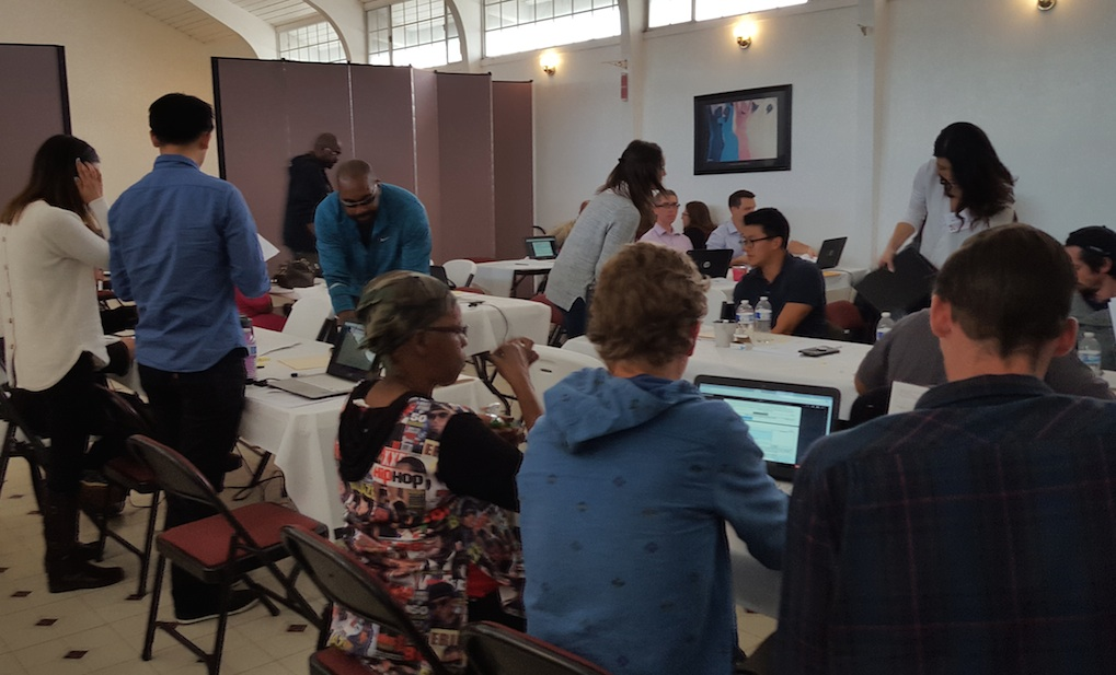 Many people attended the Expungement Clinic held Feb. 25 at Crossroads United Methodist Church.