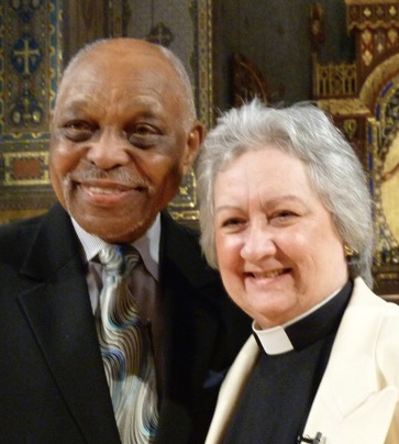 "Rev. Dr. Cecil ""Chip"" Murray and Dr. Guibord."