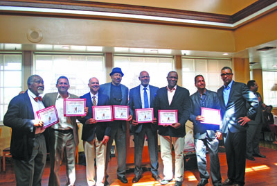 The 2nd Annual Living Legends of Tennis Awards Brunch, held recently at Oscar's Restaurant in Hawthorne, recognized seven African Americans who played significant roles in the development of tennis in Los Angeles.