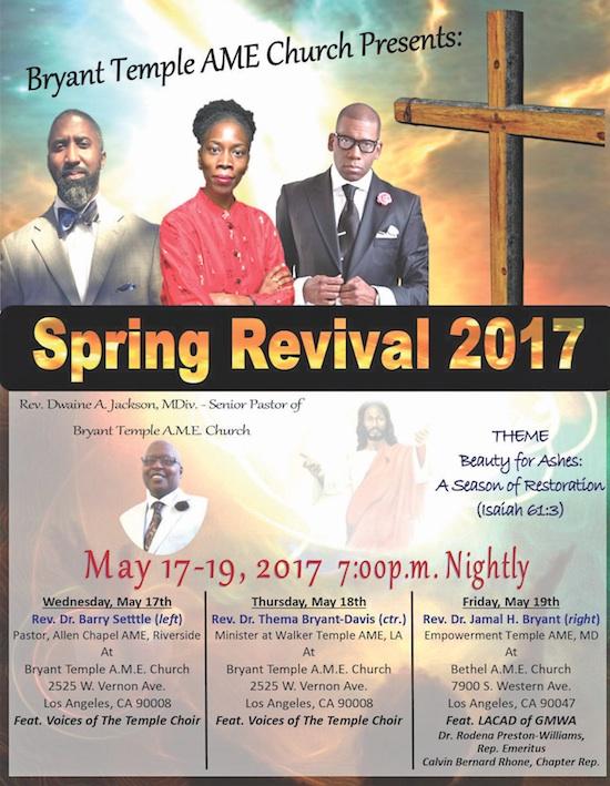 Call 2 Worship - April 27 - Los Angeles Sentinel | Los