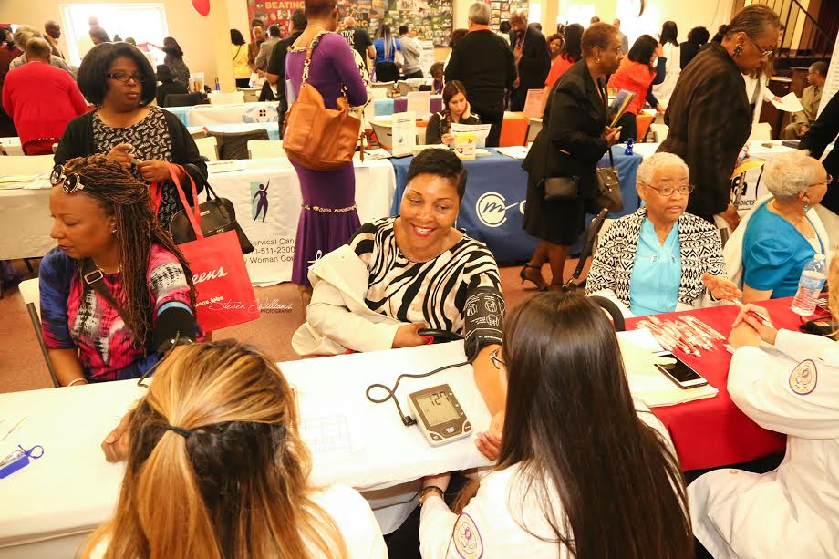 Members of First AME Church of Los Angeles participated in the Fist Ladies Health Day on March 26.