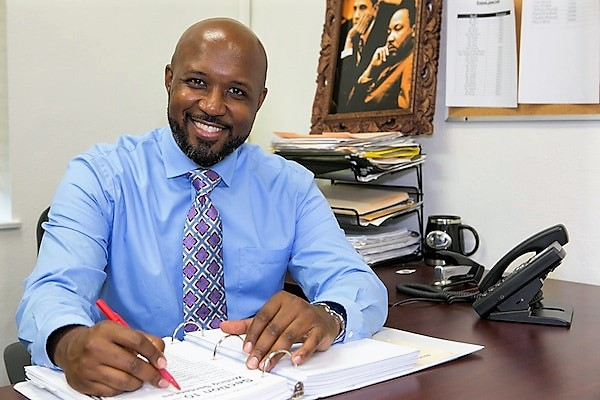 Micah Ali Vice President of the Compton Unified School District