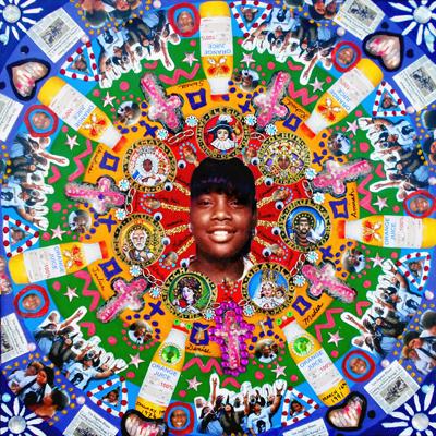 """Latasha Harlins y Las 7 Potencias Africans"""" by Lili Bernard."""