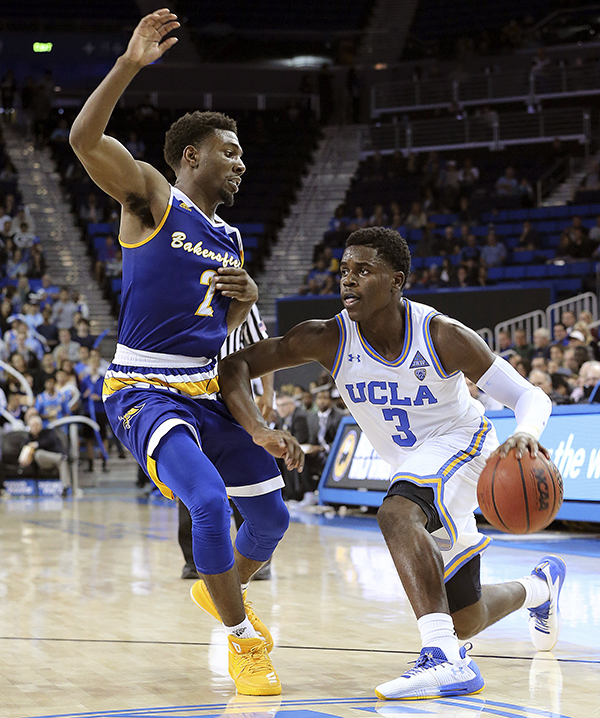 finest selection 52fe0 28989 UCLA overcomes poor offensive night, defeating Cal State ...
