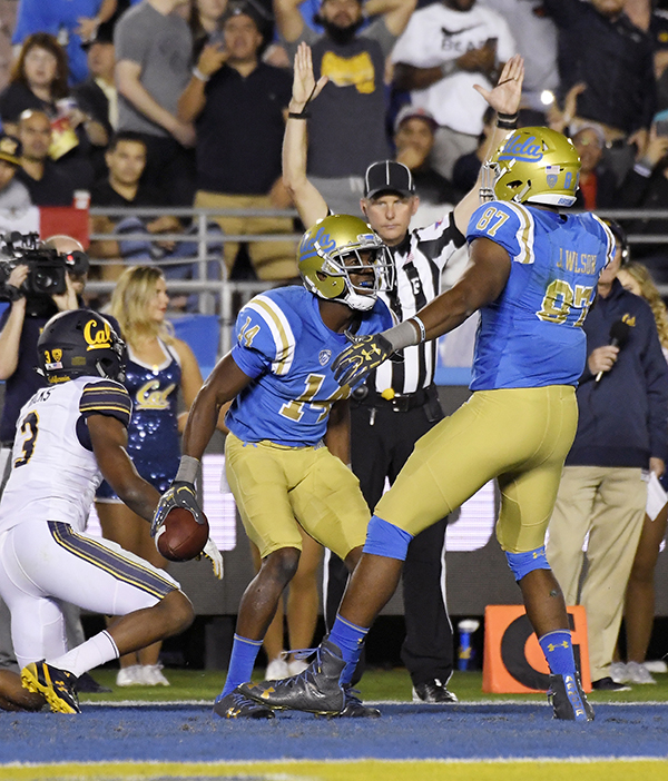 Photo Gallery Ucla Vs Cal: UCLA Earns Bowl Eligibility, Edges California With Late