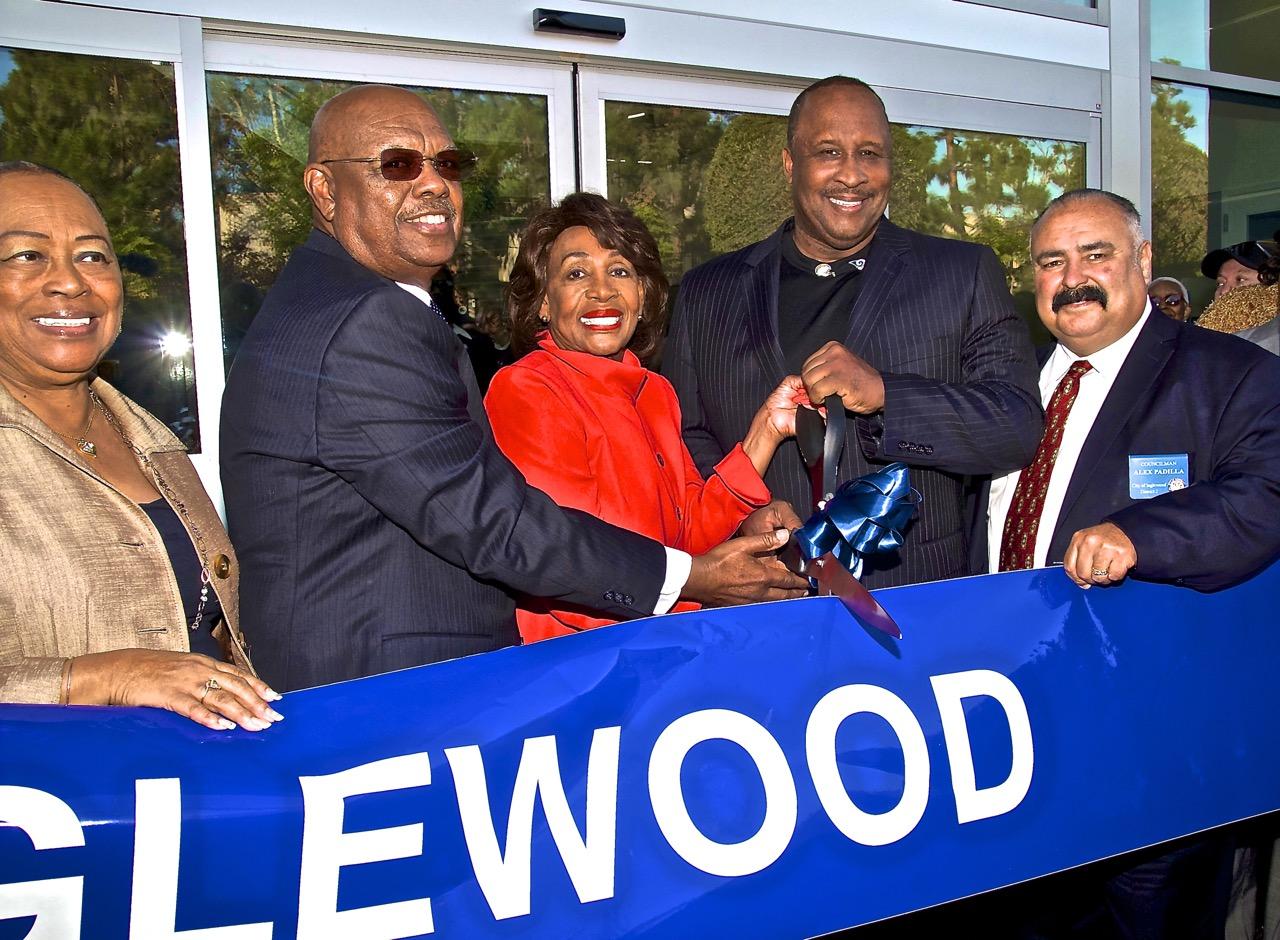 Congresswoman Maxine Waters Hails Opening of New Inglewood