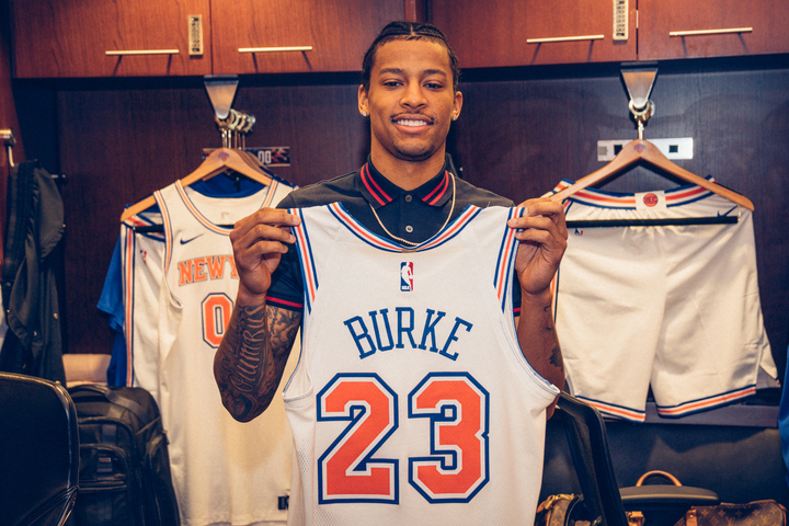 finest selection 517a2 7cf45 Knicks sign former lottery pick Trey Burke - Los Angeles ...