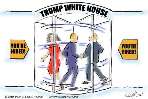 Image result for revolving door trump