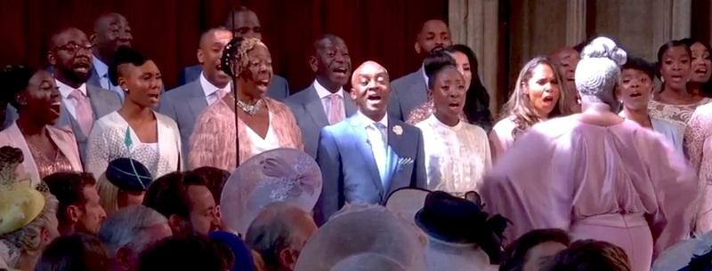 Gospel Choir At Royal Wedding.Gospel Choir From Royal Wedding Lands Record Deal Popdust