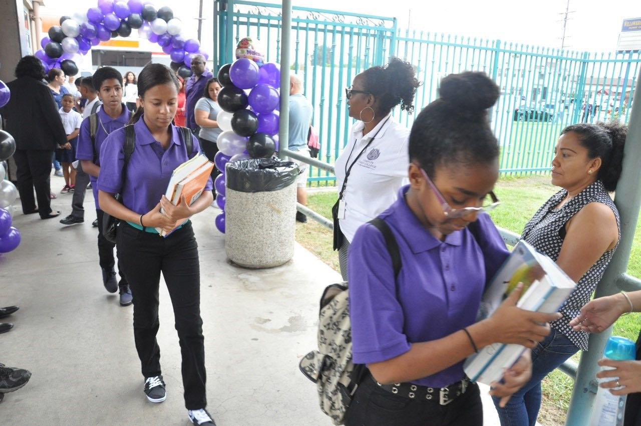 Compton Children Celebrate the First Day of School, Major