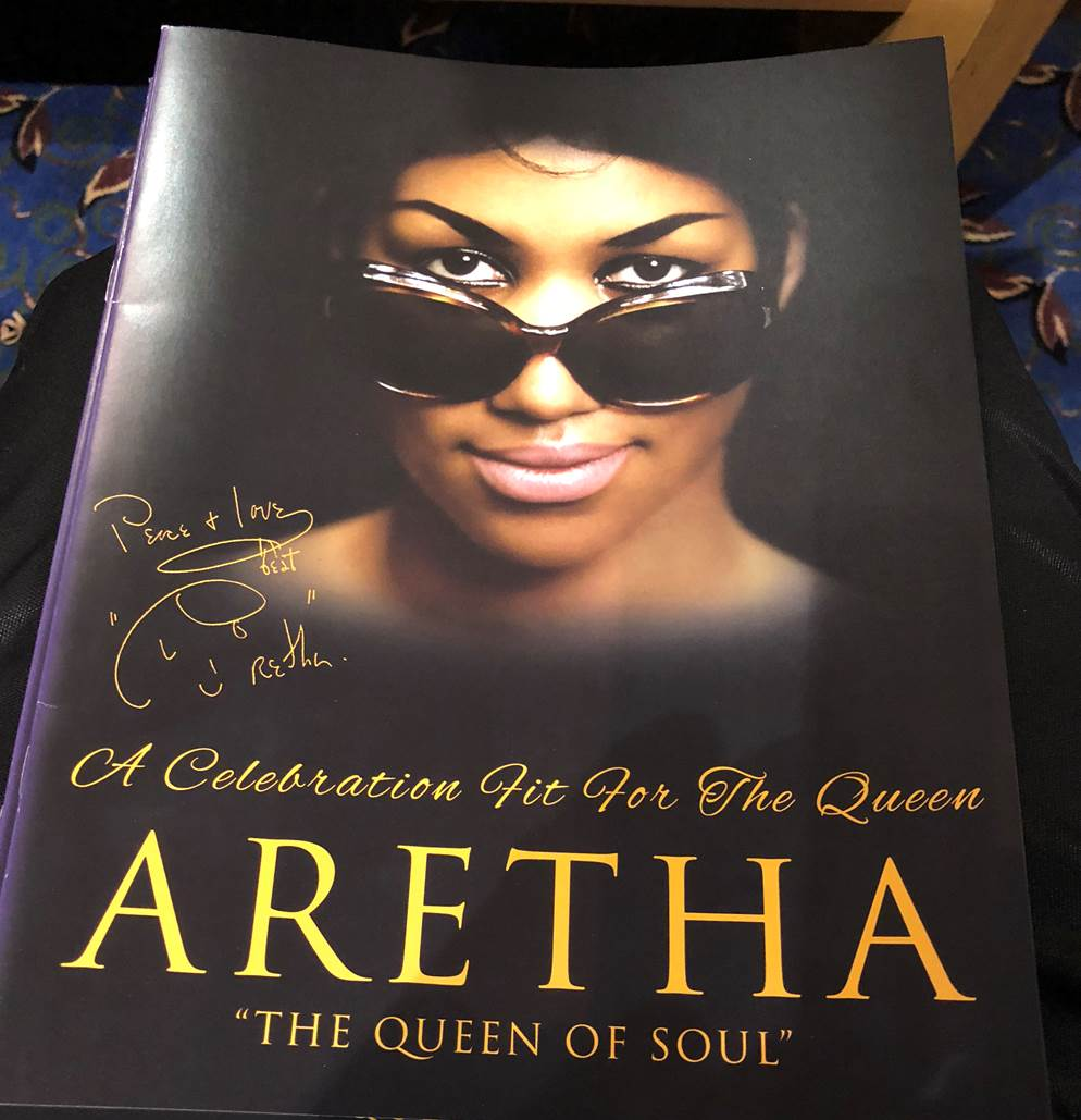 Photo Of The Day: Dr. Chavis Shares Queen Of Soul