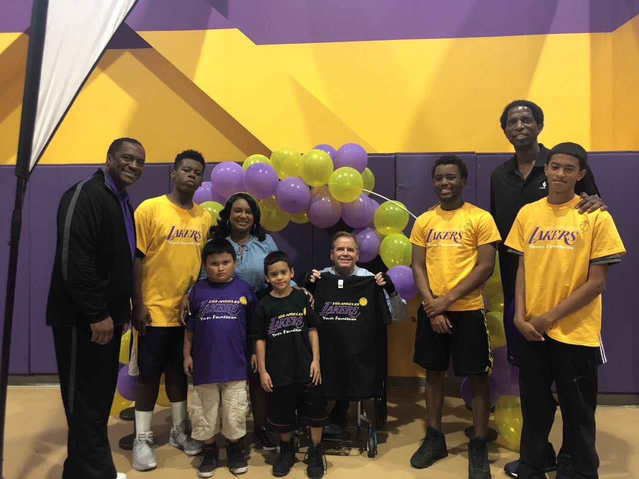 3cb1ce3be Lakers Youth Foundation Impacts Lives with Gym Renovation in Skid ...