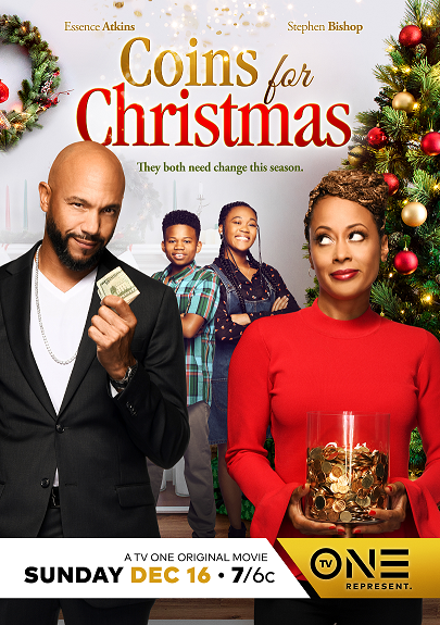 One Christmas Eve.Stephen Bishop Stars In Tv One S Coins For Christmas Los