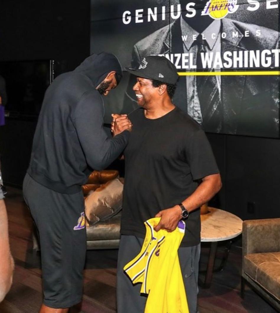 Denzel Washington Inspired LeBron James