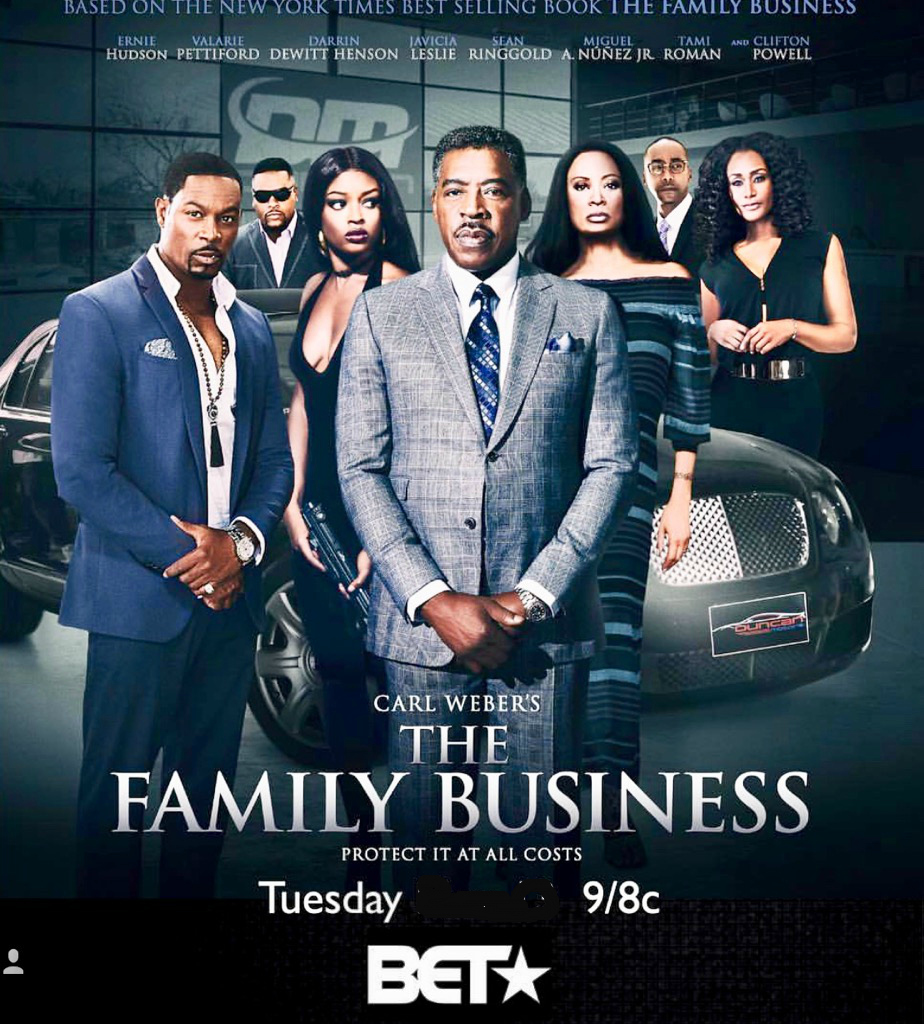 Carl weber family business series on bet nba players betting