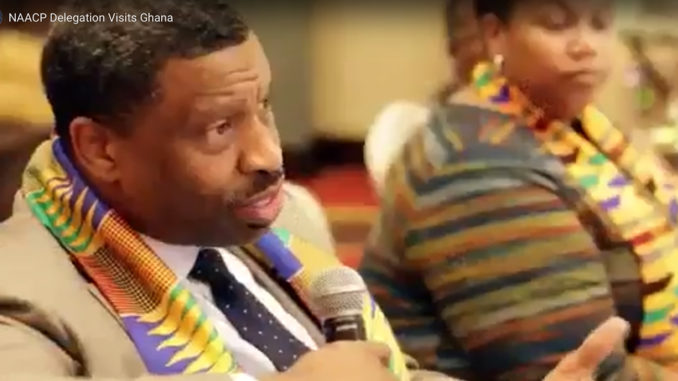 NAACP President Johnson Travels to Ghana in Support of