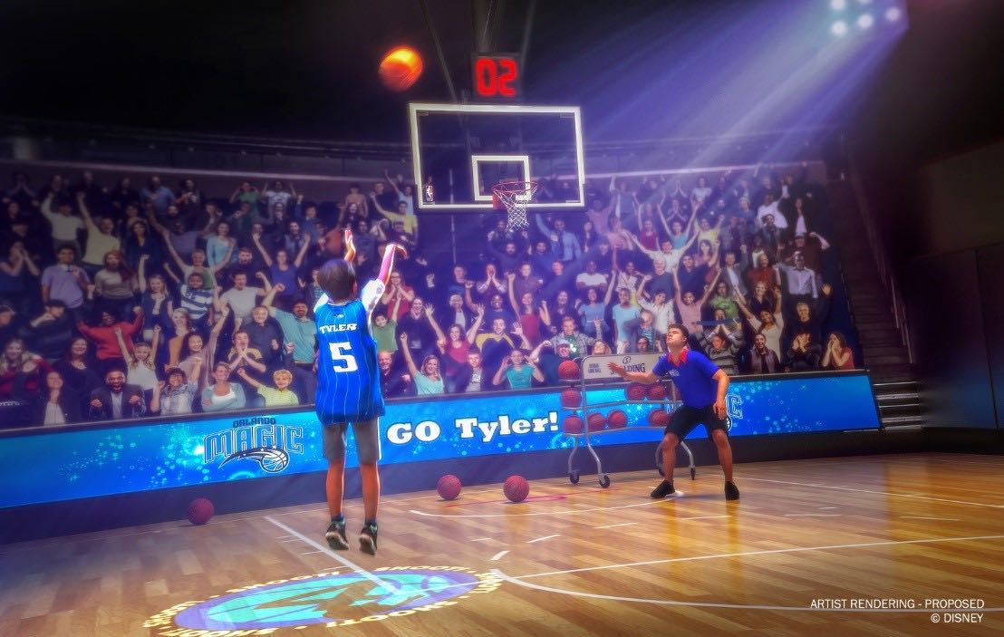 NBA Experience Tips Off August 12 at Walt Disney World