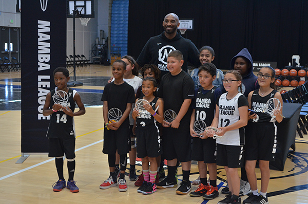 Kobe Bryant Visits The Third Annual Mamba League Tournament