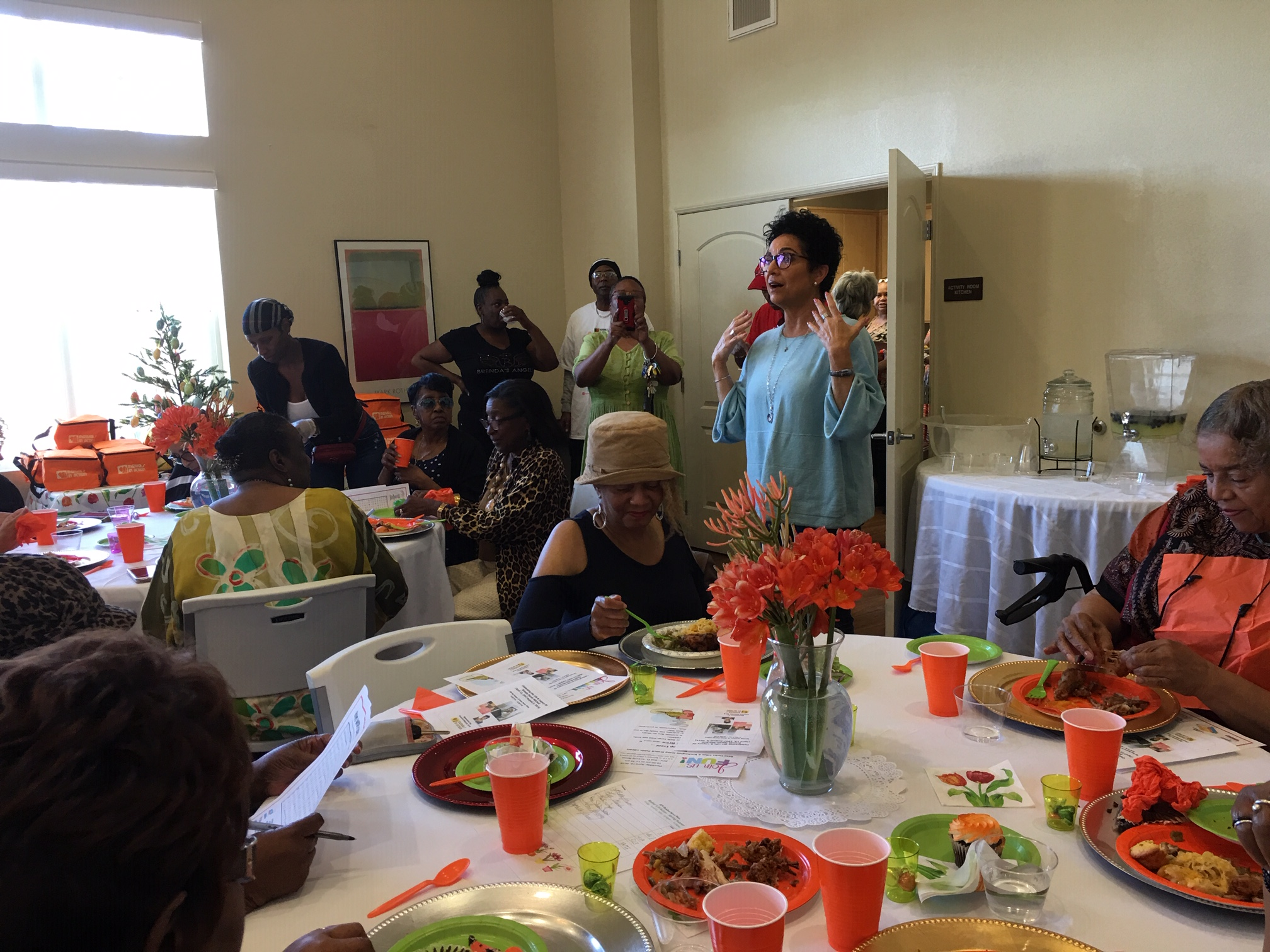 Mothers In Action Mark Founding President's Birthday by Serving Seniors