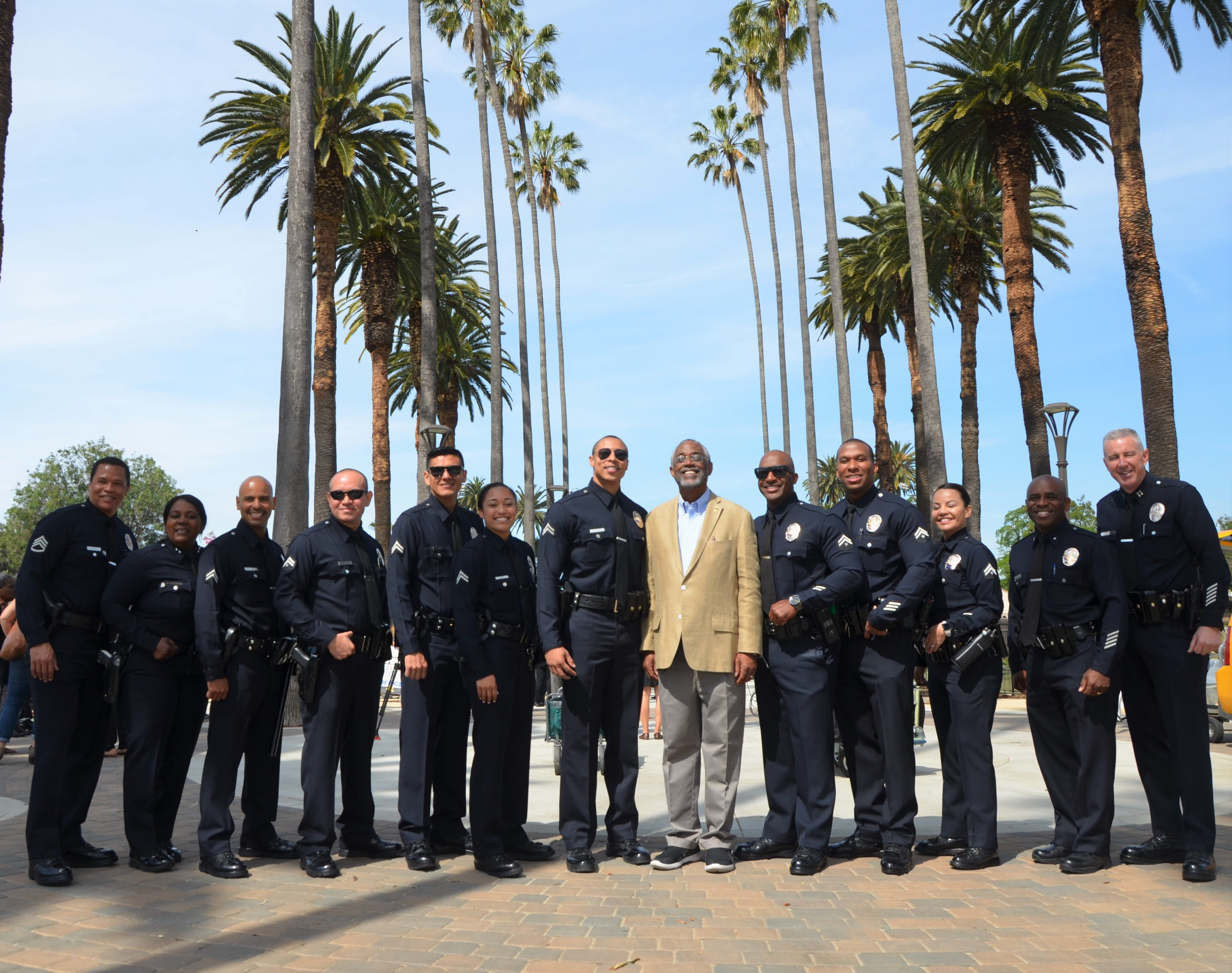 Councilmember Curren Price Welcomes South Park Community Safety Partnership (CSP) Officers in Effort to Reduce Crime, Build Relationships