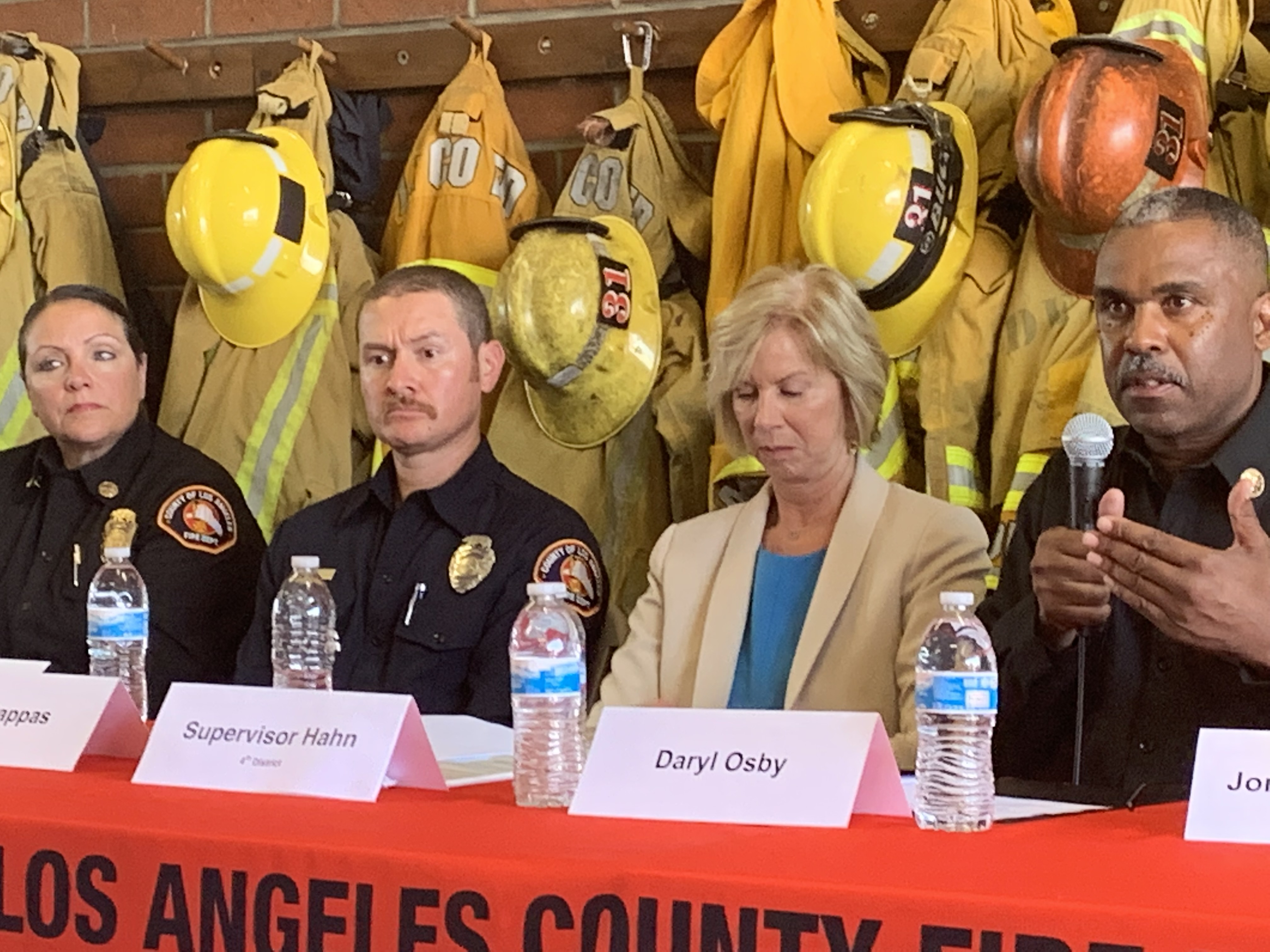 50 years after the 911 system was launched, L A  County Fire