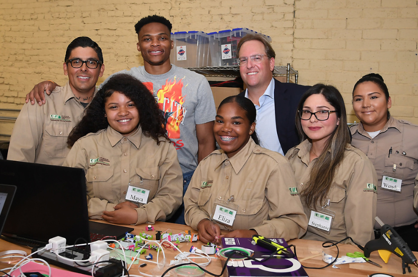 Russell Westbrook Launches Tech Program with L A