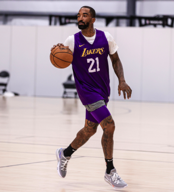 J.R. Smith Is Bringing Showtime Lakers To Orlando With Social ...