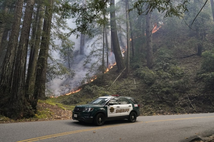 California fire danger eases as winds ease, cooling arrives