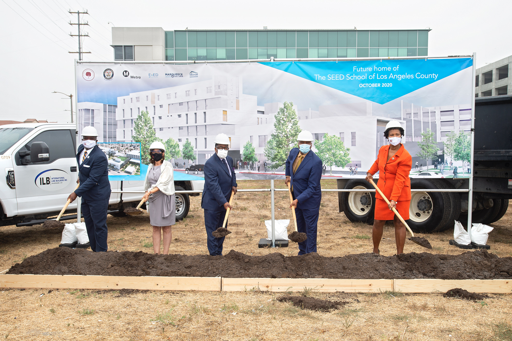 LA County, Metro and the SEED School of Los Angeles Break Ground on Massive Vermont Manchester Development - Los Angeles Sentinel