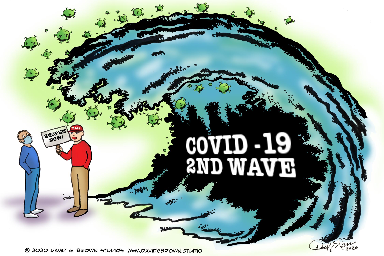 David G. Brown Cartoon