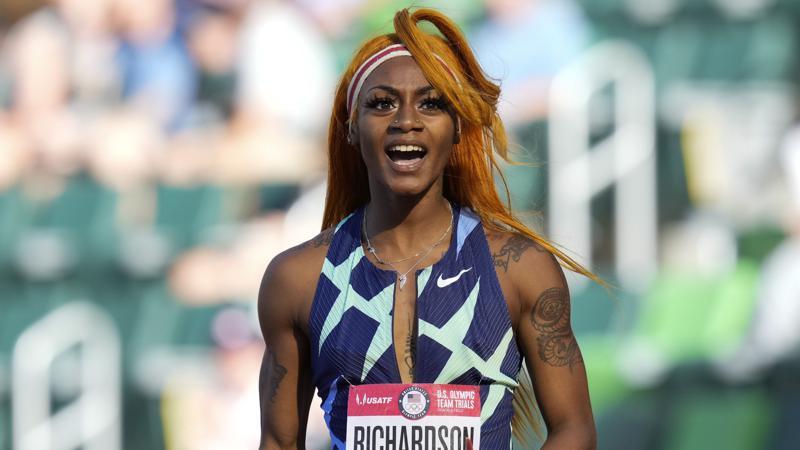 Richardson will Miss Olympic 100 after Marijuana Test